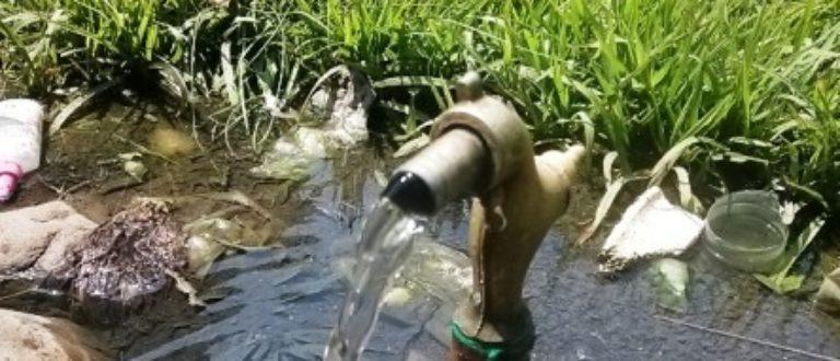 Article : L'eau gaspillée à Buja, recherchée à Goma